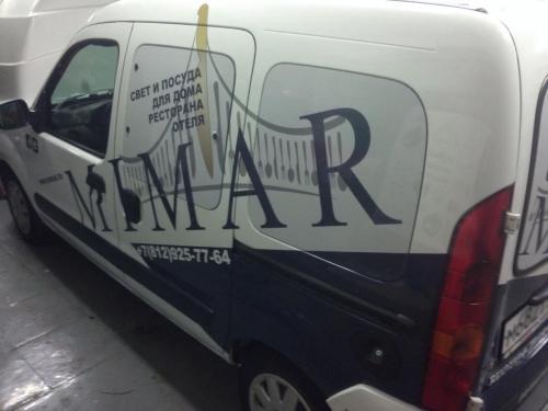 brendirovanie avto mimar 3